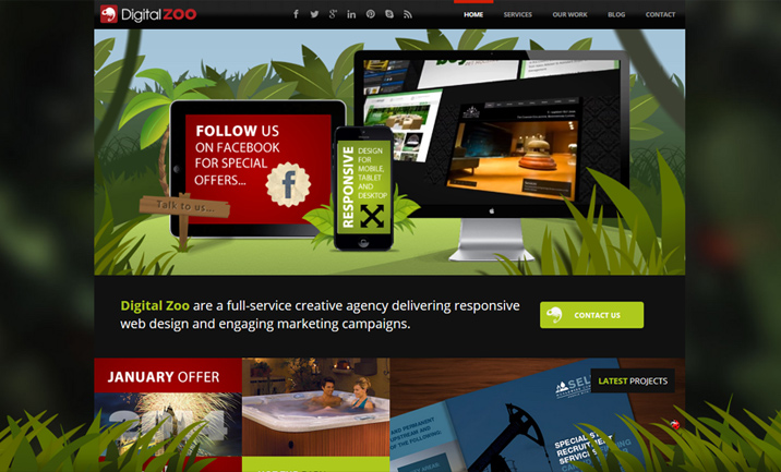 Digital Zoo website