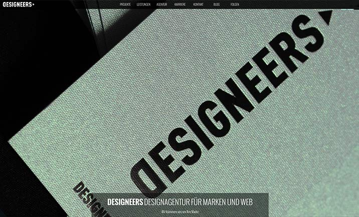 DESIGNEERS Agency website