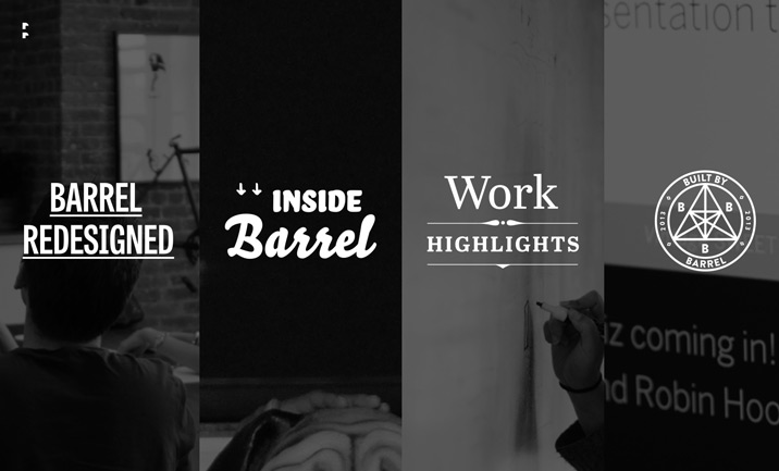 Barrel Recap 2013 website