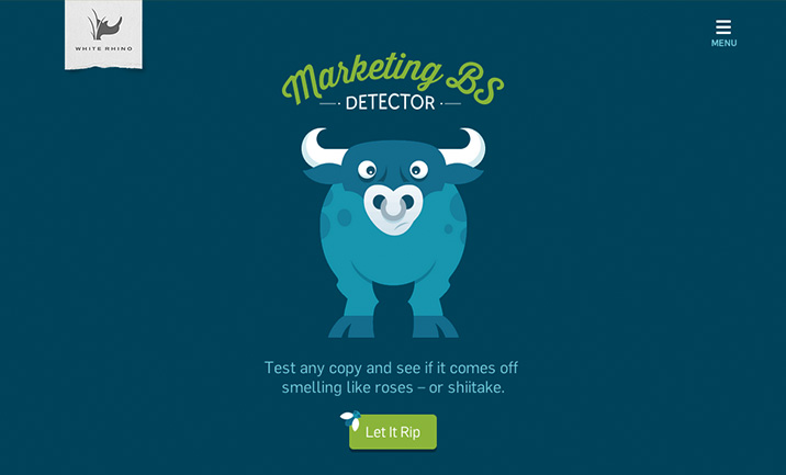 Marketing BS Detector website