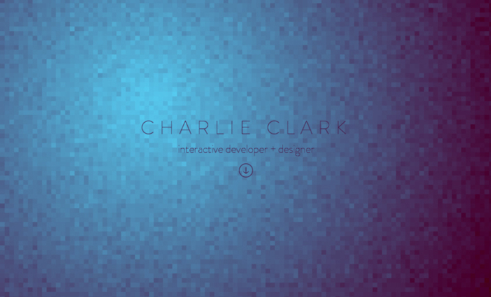 Charlie Clark Design website