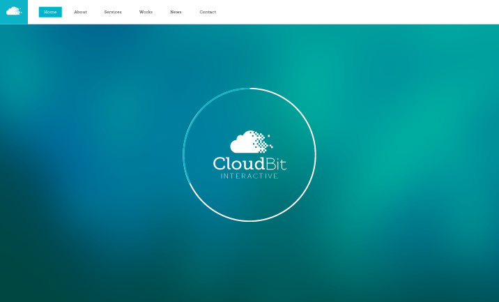 Cloudbit Interactive website
