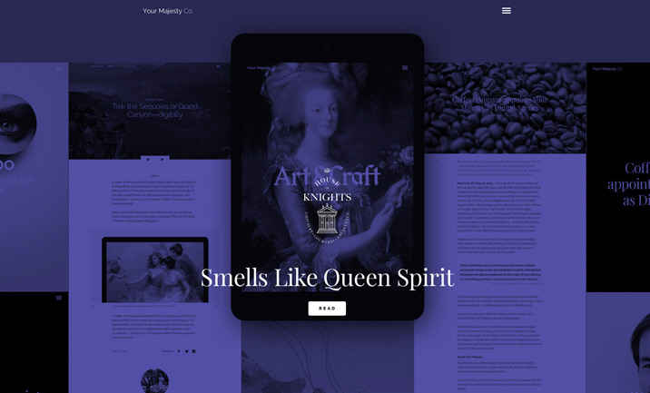 Your Majesty website