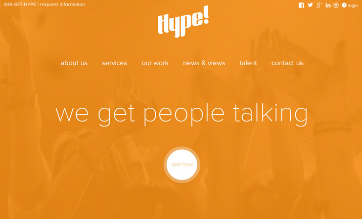 the hype agency website