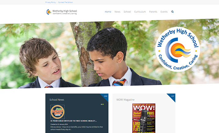 Wetherby High School website
