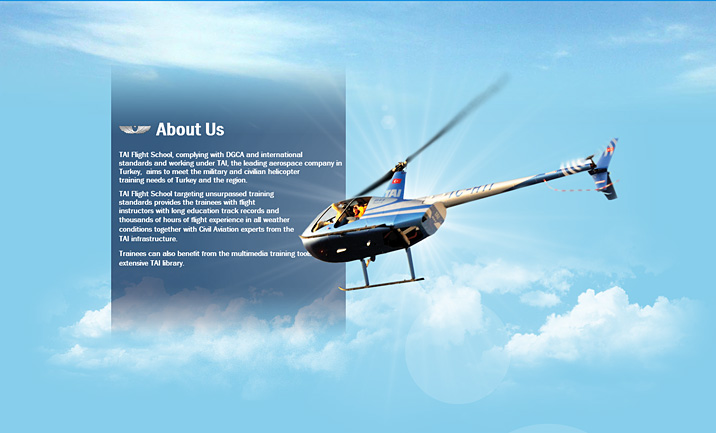 TAI Flight School  website