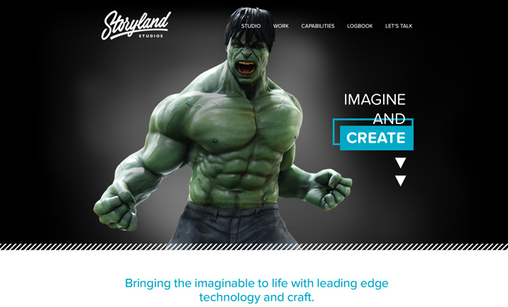 Storyland Studios website