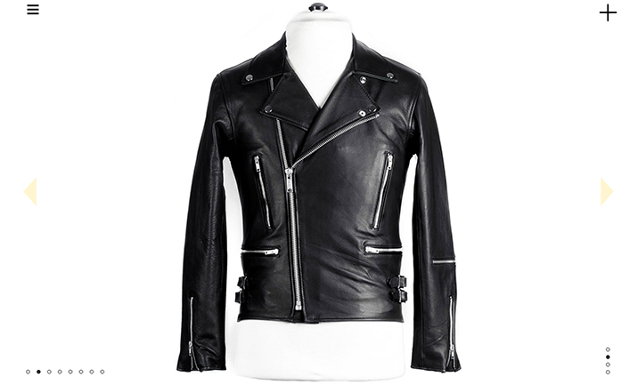 Maverick Biker Jacket website
