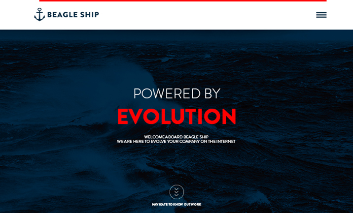 Beagle Ship website
