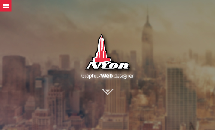 NYon design website