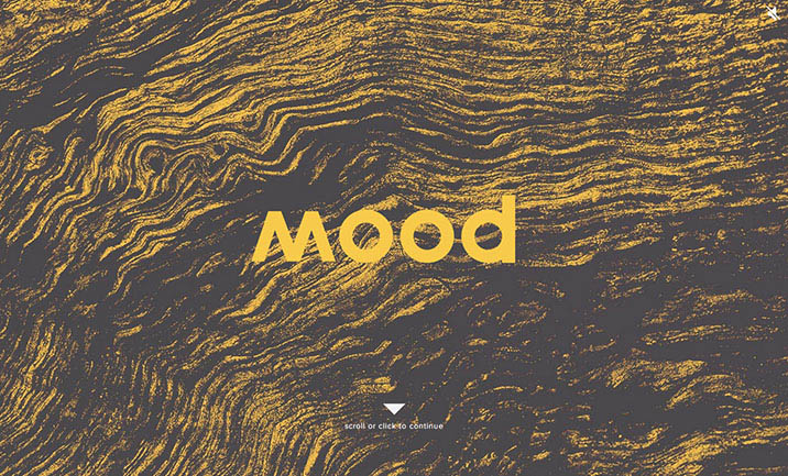 Mood Furniture website
