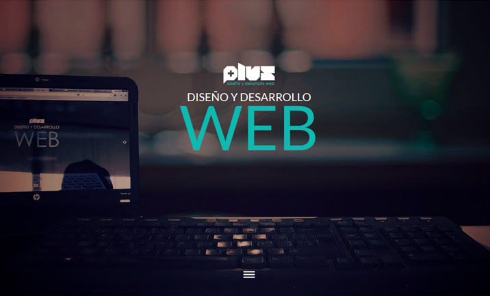 Plus Web website