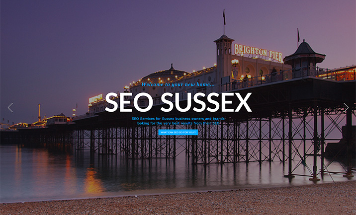 SEO Sussex website