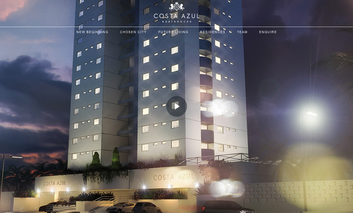 Costa Azul Residences website