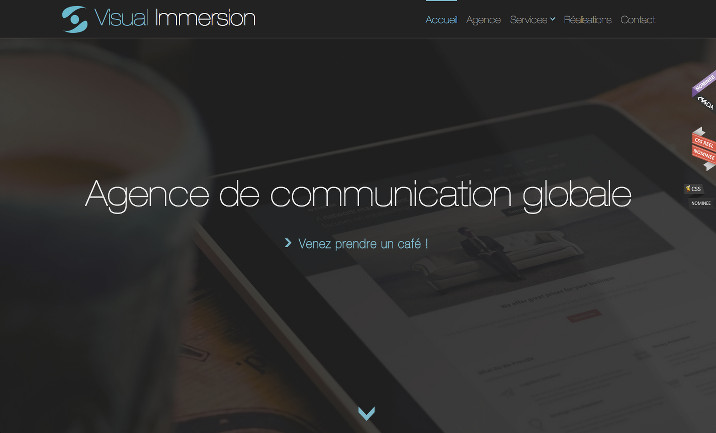 Visual Immersion website