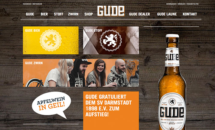 GUDE!  website