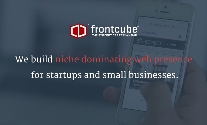 FrontCube website