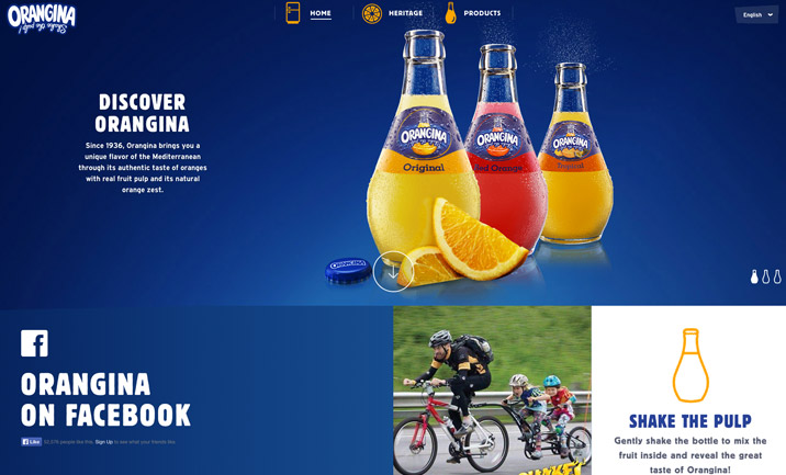 Orangina website