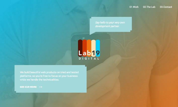 Lab19 Digital website