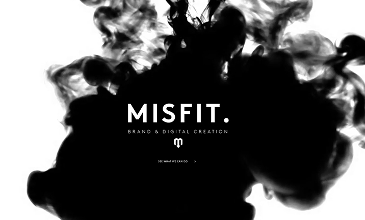 Misfit Creative website