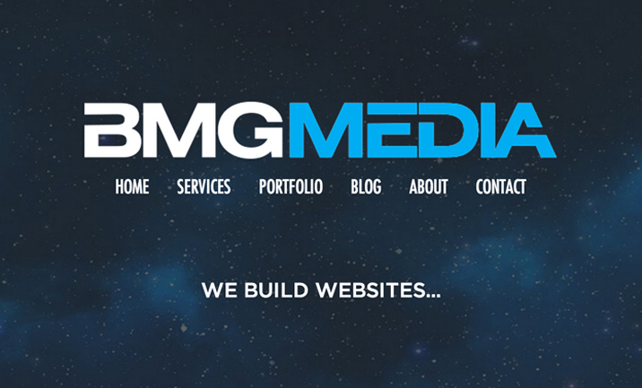 BMG Media website