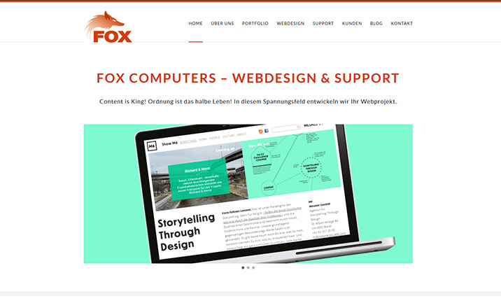 Fox Computers website