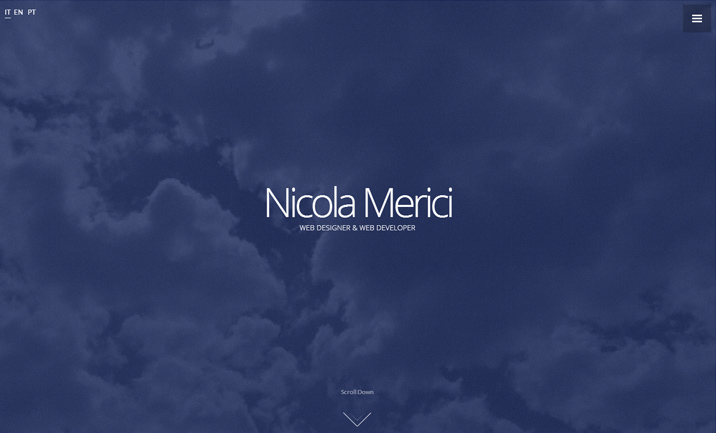 Nicola Merici website