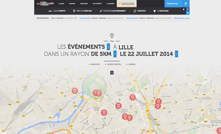 Lillelanuit.com website