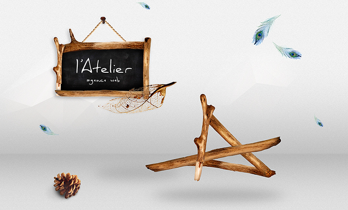 L'Atelier Agence Web website