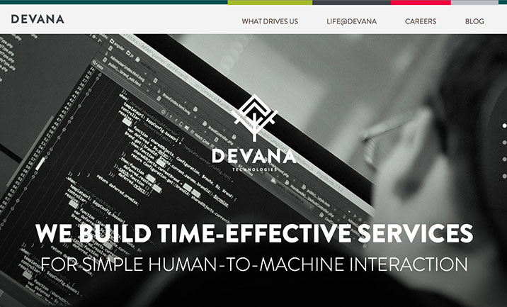 Devana Technologies website