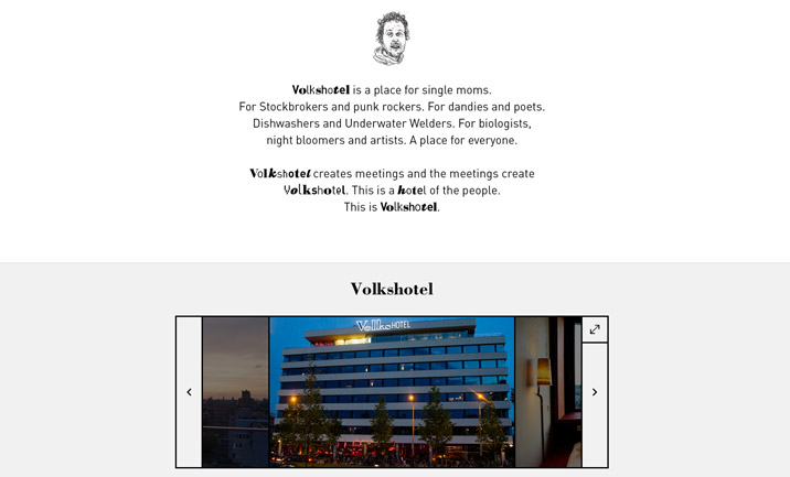 Volkshotel screenshot 2
