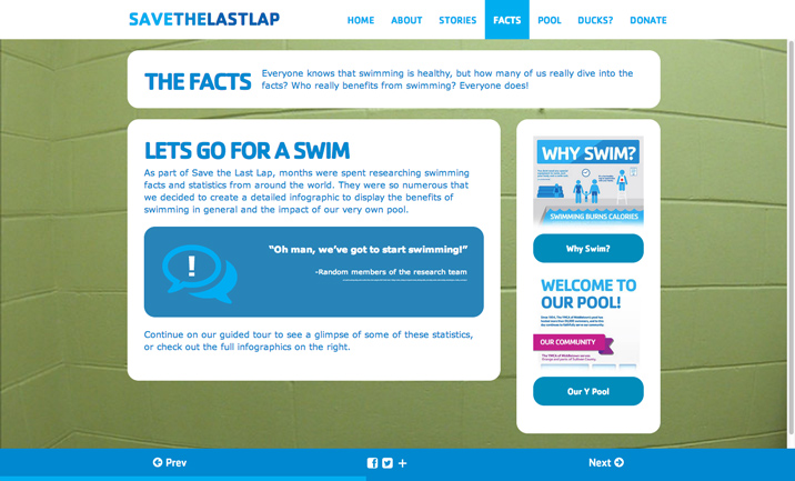 Save the Last Lap website