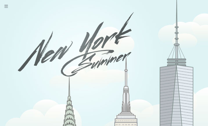 My New York Summer website
