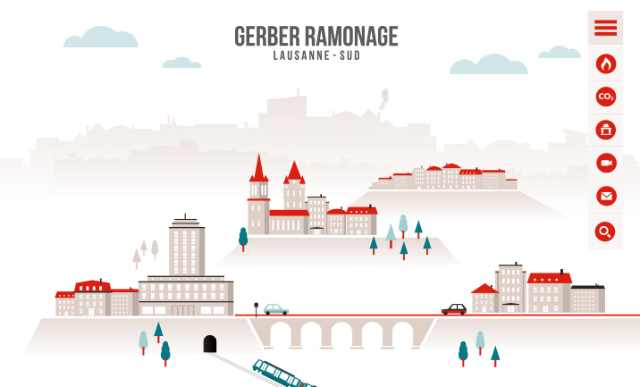 Gerber Ramonage à Lausanne website