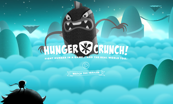 Hunger Crunch website