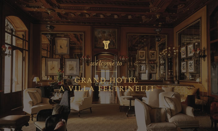 Grand Hotel a Villa Feltrinelli website