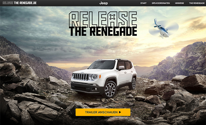 Release the Renegade website