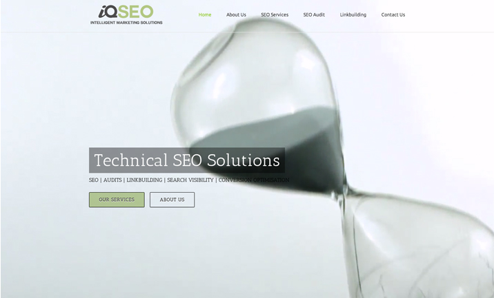 IQ SEO website
