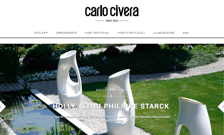 Carlo Civera - Since 1954 website
