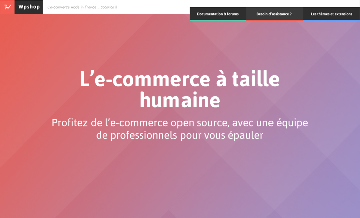 WPshop e-commerce for Wordpress website