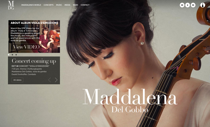 Maddalena Del Gobbo website