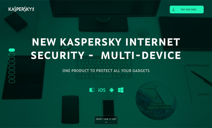 Kaspersky Internet Security MD website