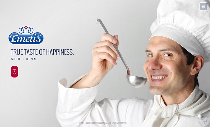 True taste of happiness website