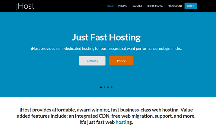 jHost website
