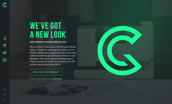 Green Chameleon website