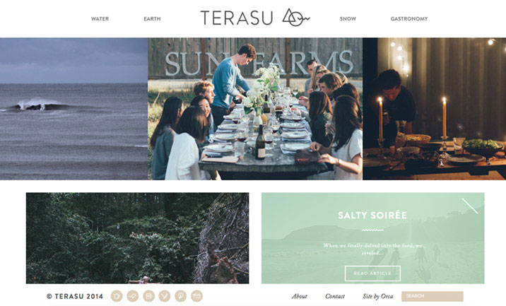 Terasu Life website