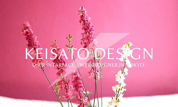 KeiSato Design website