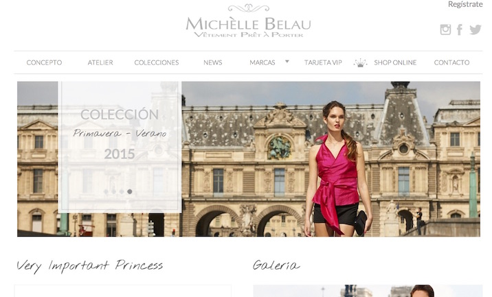 Michelle Belau website