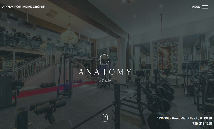 Anatomy At 1220 website