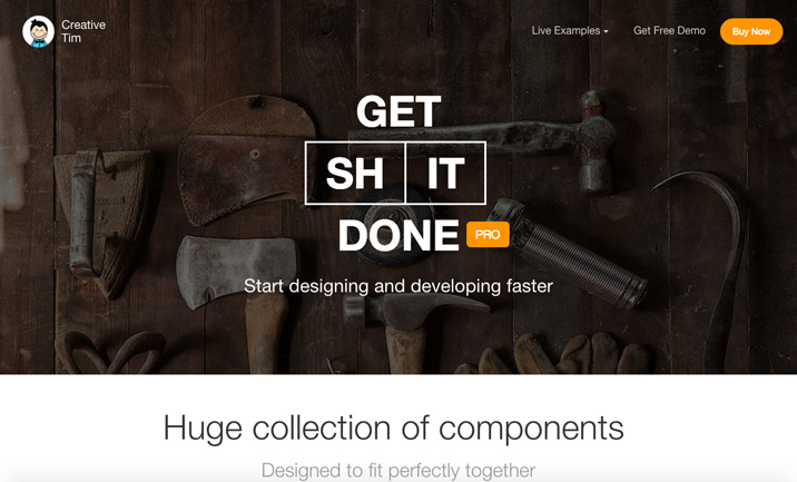 Get Shit Done Pro, Bootstrap Kit